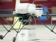 ubereats livraison par Drone McDonald's San Diego Californie