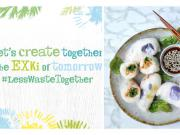 Exki #lesswastetogether campagne en vue de réduire le gaspillage alimentaire en restauration
