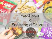 Snacking d'or innovations foodtech food Use Tech 2020
