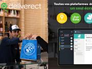 Deliverect interface de livraison foodtech et restauration rapide