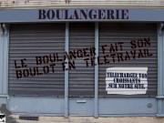 boulangerie : coronavirus téléchargez vos croissants, le boulanger est en télétravail !