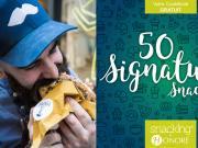 Livre de recettes : 50 signatures snacking pour booster la restauration post covid-19 en 2020