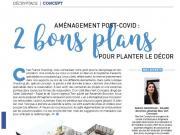 covid-19 plan restaurant bleu vert concept agence twin