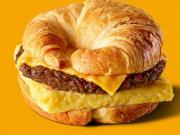 Burger King croissant au petit-dejeuner aux U.S.