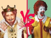 McDonald's Burger King