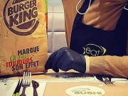 eat sushi Burger King