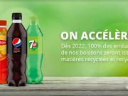 pepsico rpet emballage recyclé boissons