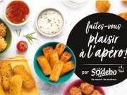 sodebo lancement apéritif dînatoire offre repas en 2021 au rayon frais snacking