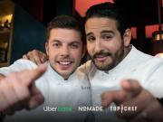Le menu gagnant de 'La guerre des restos' de Top Chef disponible en livraison sur Uber Eats
