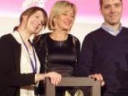 Kristin Frederick et Frédéric Fedière, Palme d'Or 2013 de la restauration avec Le Camion qui fume
