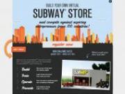Subway propose un jeu inédit de construction de magasin virtuel