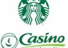 Des Starbucks bientôt dans les hypers et supers Casino