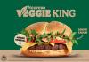 Burger King lance officiellement en France son burger végétal Veggie King le 25 mai