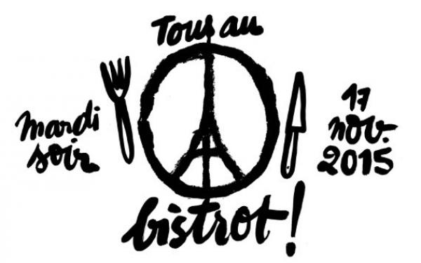 'Tous au bistrot mardi soir', les restaurateurs ont témoigné leur solidarité