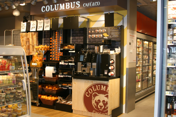 Columbus Café s'installe chez Franprix en format LS