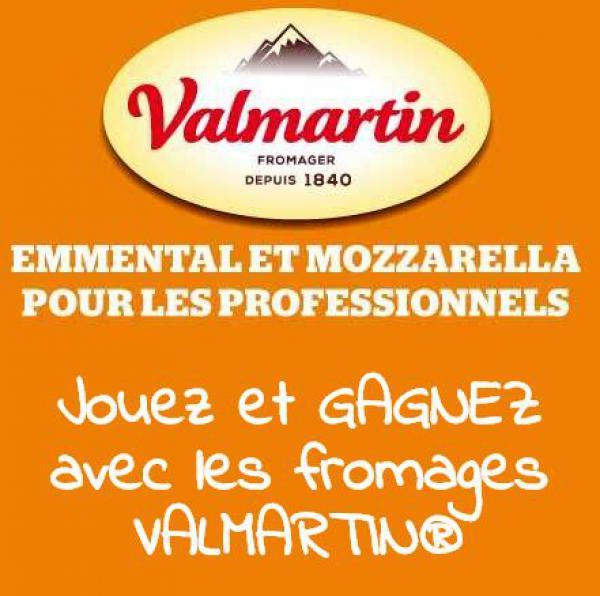 Valmartin lance son jeu-concours