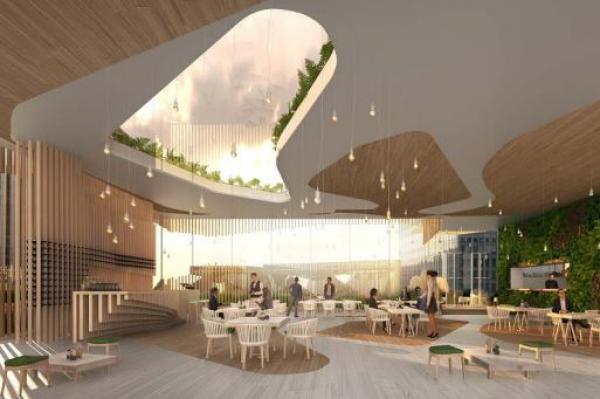 Bioburger, Label Ferme et Louie Louie, 3 restaurants pour le projet Oxygen de La Défense