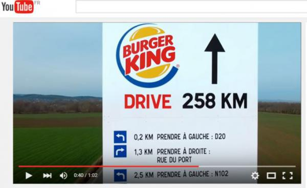 #McDriveKing, Quand McDonald's se moque de Burger King par réseaux sociaux interposés !