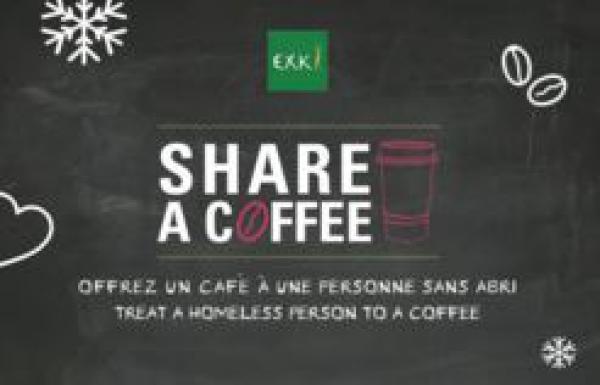 Plus de 150 000 cafés récoltés chez Exki pour les démunis