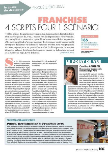 Franchise : 4 scripts pour 1 scénario ! L'enquête France Snacking…