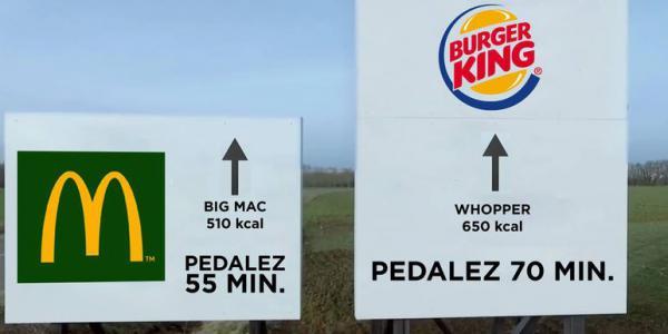 Vélib' s'invite dans la guéguerre McDo-Burger King