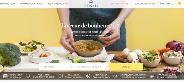 Frichti, la startup française de livraison de repas lève 12 M€