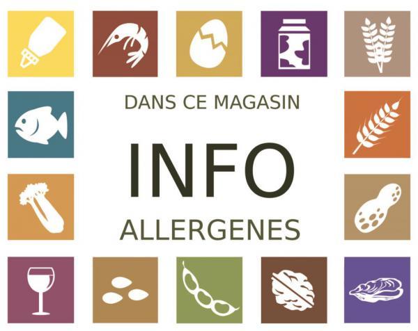 ALLERG'INFO, l'application pour informer sur les allergènes contenus dans les produits en restauration