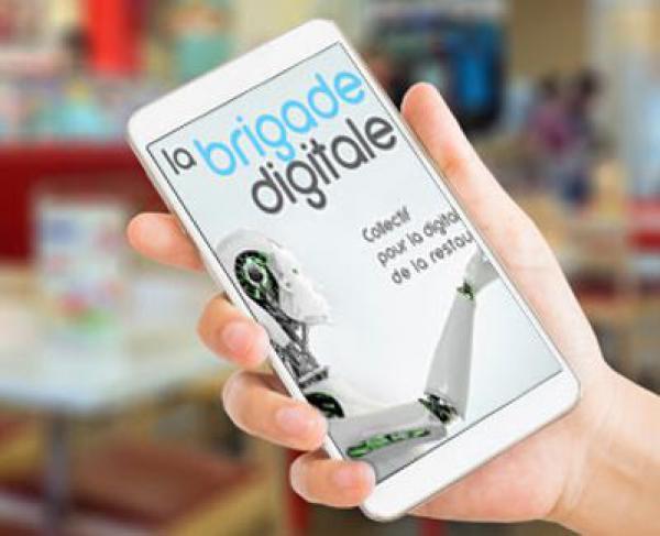 La Brigade Digitale réinvente le parcours client 3.0 en restaurant