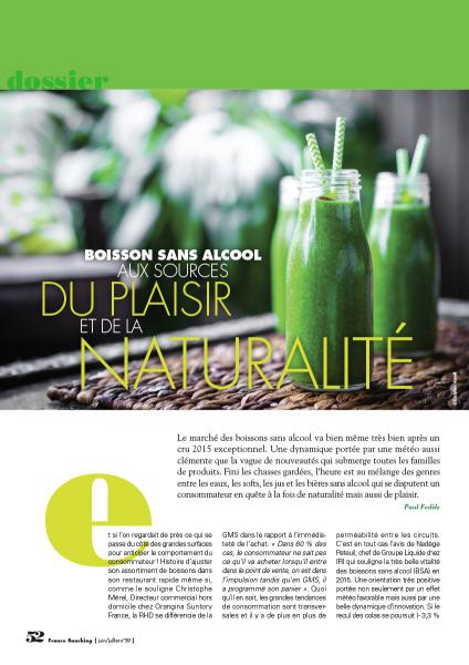 Boissons : 5 innovations en 2016 pour booster son concept #Snacking