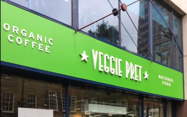 #FLTLondres, VEGGIE PRET, le pop-up végétarien de PRET A MANGER