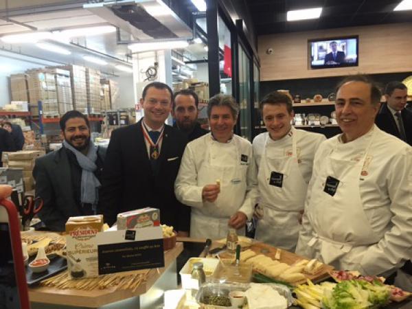 Lactalis CHF mise sur Fromages et Chefs