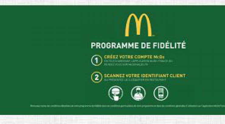 McDonald's lance un nouveau programme de fidélité