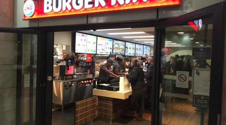Burger King, enseigne de fast-food préférée des Français