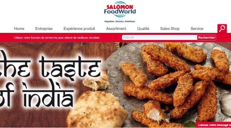 Salomon Foodworld 'tchate' en ligne avec ses clients