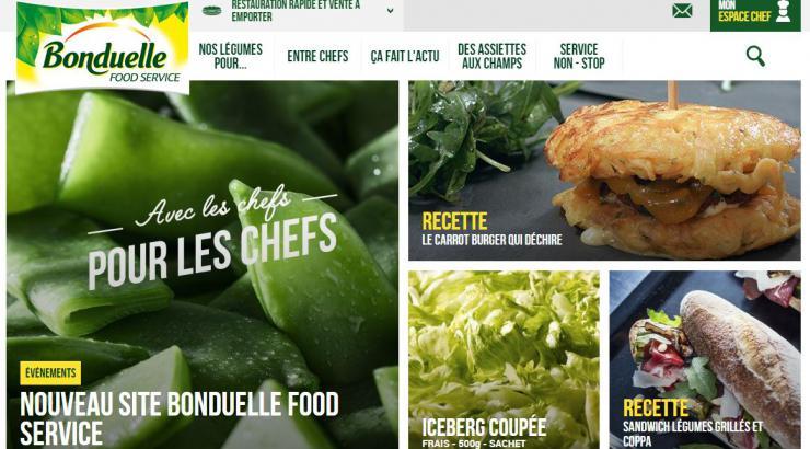 Bonduelle revoit son site et lance le mouvement Des légumes qui envoient
