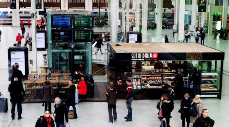 200 kiosques supplémentaires pour Sushi Daily en 2016 dont 2 en gare