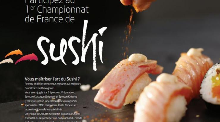 Championnat de France de Sushi, les inscriptions sont ouvertes