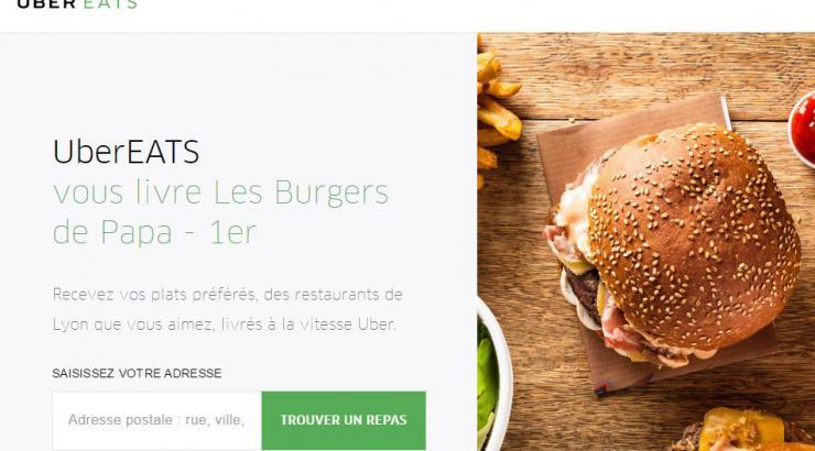 UberEats lance la programmation de livraison de repas