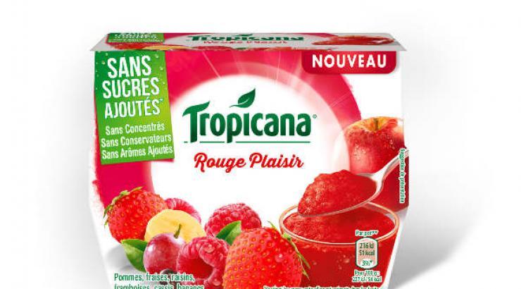 Tropicana investit le terrain du dessert de fruits