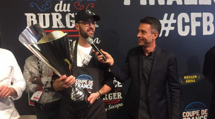 Vincent Boccara remporte la 2e Coupe de France de Burger by Socopa