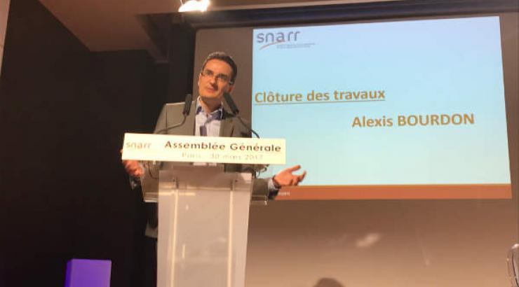 AG du SNARR, Alexis Bourdon reconduit à la présidence du syndicat