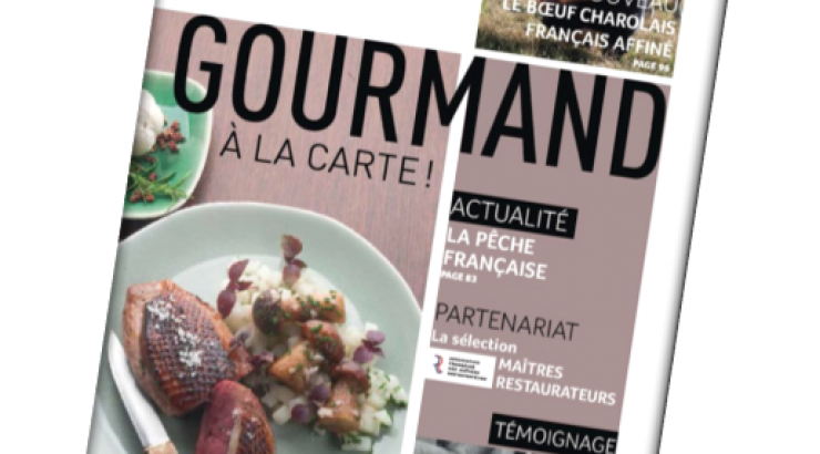 PassionFroid sort Gourmand à la Carte 2017