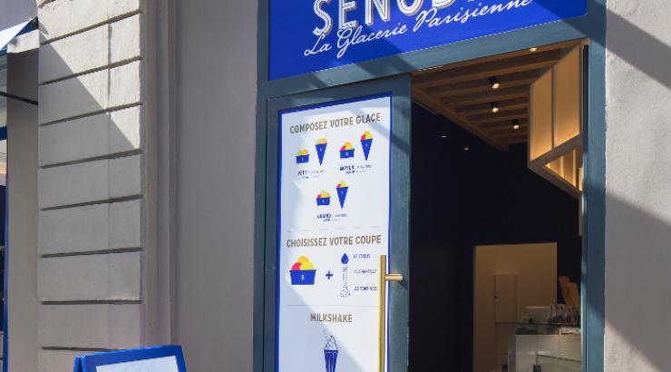 Senoble investit le monde de la glace avec deux premières boutiques