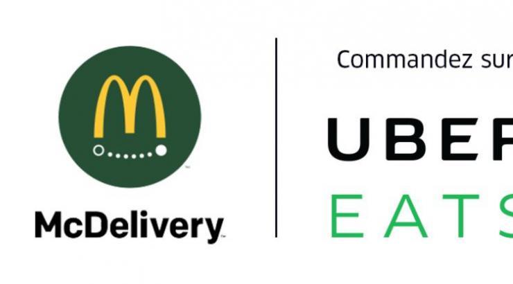 Livraison : McDonald's en exclusivité chez UberEats à Paris et Lyon