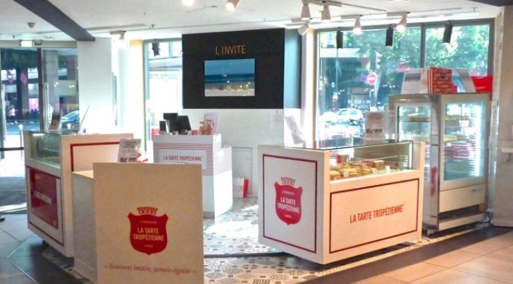 La Tarte Tropézienne investit les Galeries Lafayette