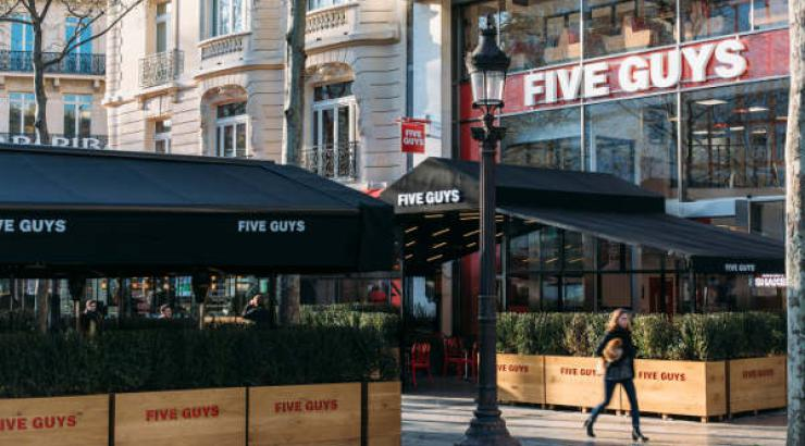 Five Guys France ouvre 3 nouvelles unités et prévoit une accélération en 2018