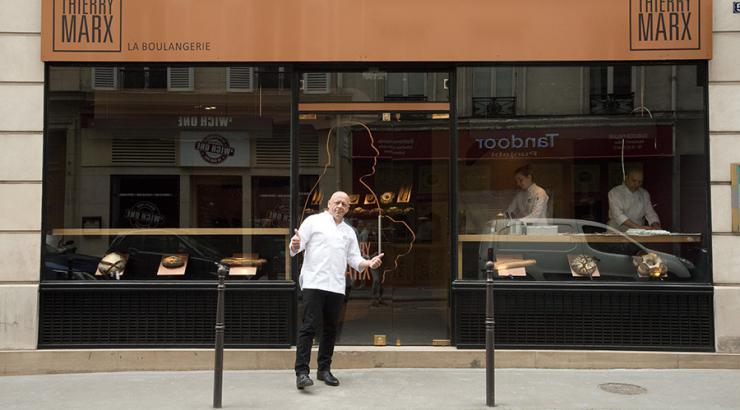 Thierry Marx vise un réseau de 20 boulangeries à 5 ans avec le fonds FrenchFood Capital