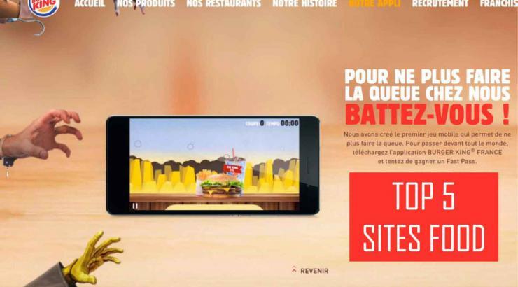 5 sites internet Food qui envoient !