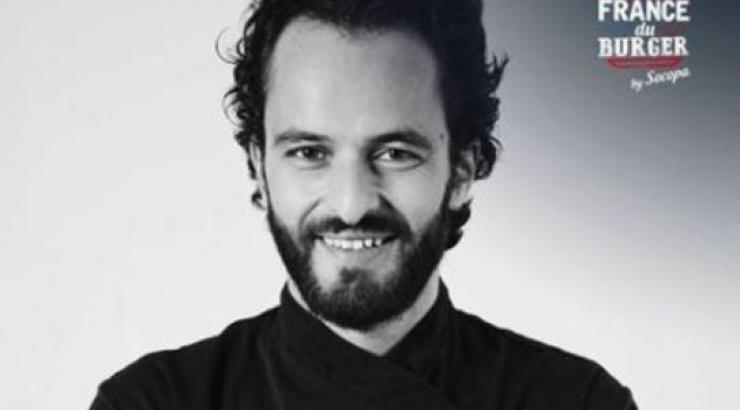 Le chef Yoni Saada, Président du jury de la Coupe de France du Burger