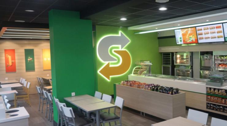 Subway croit en son nouveau concept point de vente